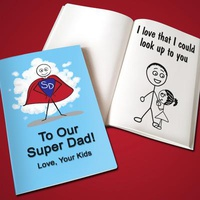 Personalized Father's Day LoveBook - Soft Cov
