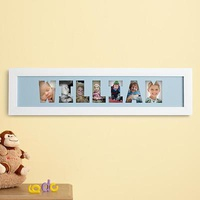 Personalized Name Frame Photo Collage