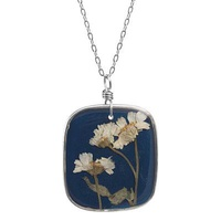 Birth Month Flower Necklace - January
