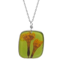 Birth Month Flower Necklace - March