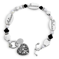 Personalized Graduation Bracelet
