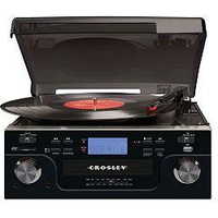 Crosley Tech USB Recordable Turntable With CD And 