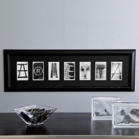Personalized Architectural Alphabet Framed Print