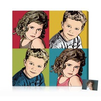 Personalized Gifts - Exclusive Warhol Pop Art Port