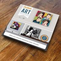 Custom Artbox Gift Package