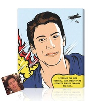 Cool Pop Art For Teens - Hand Illustrated From Pho