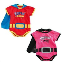 Personalized Super Baby Rompers