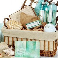 Waves Of The Pacific Bath & Body Spa Basket