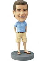 Main In Shorts And Tshirt Bobblehead