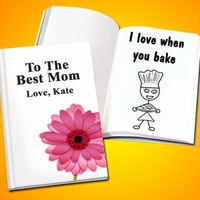 Personalized Mother's Day LoveBook - Hard Cov