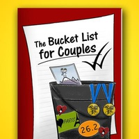 The Bucket List For Couples Book - Soft Cover