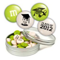 Personalized M&M'S® With Silver Graduati
