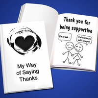 Personalized 'Thank You' LoveBook - Hard