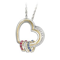 Forever In A Mother's Heart Personalized Hear