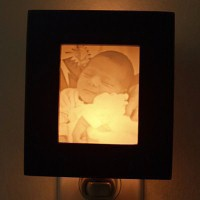 Personalized Lithophane Night Light