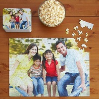 Personalized Photo Puzzles With Gift Tin