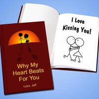 Personalized Proposal LoveBook - Hard Cover