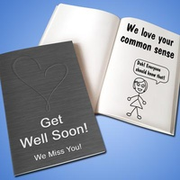 Personalized 'Get Well' LoveBook - Soft