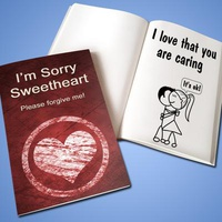 Personalized 'Apology' LoveBook - Soft C