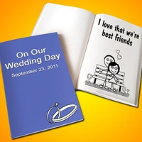 Personalized Wedding LoveBook - Soft Cover