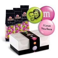 Personalized MY M&M'S® With Your Faces & Messages W/Gift Box