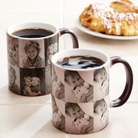 Personalized Multi Photo Color Changing Mug