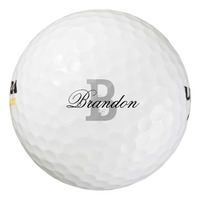 Custom Name Monogram Golf Balls For Men And..