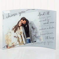 Personalized Romantic Photo Curved Glass - I..