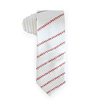 baseball stitching tie stocking stuffer idea