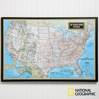 Personalized United States Map From National..