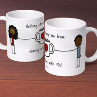 Sharing Coffee With You - Personalized 11 Oz...