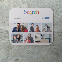personalized google mouse pad with photos stocking stuffer idea