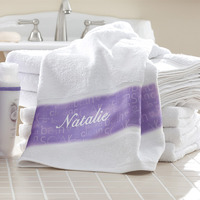 personalized bath towels gift for your preppy niece
