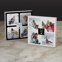 custom photo collage of 8 photos