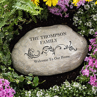 Personalized Garden Stones - Our Family