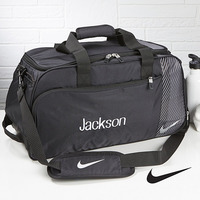 Personalized Gym Duffel Bag - Nike - Embroidered..