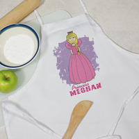 Personalized Princess Youth Apron