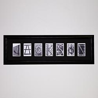 Personalized Architectural Alphabet Photography Fr