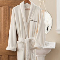 personalized cozy bath robe gift for her