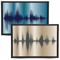 Personalized Custom Canvas Art From Your Voice!