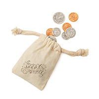 seed money pouch of plantable flower coins unique eco-friendly stocking stuffer idea