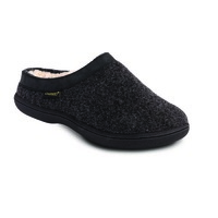 Curly Womens Clog-Style Slippers