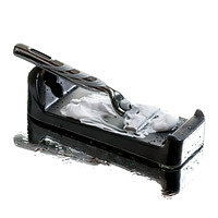 razor sharpener extends the life of his razor blades and looks cool too