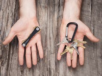 key organizer stocking stuffer idea