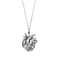 anatomical heart necklace Valentine's Day gift idea