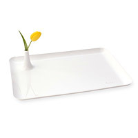 breakfast in bed tray with built in vase gift for women