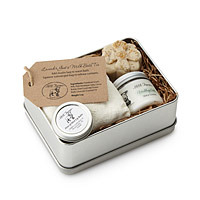 natural spa set for new moms