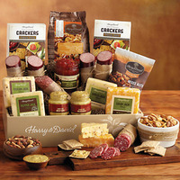 last minute gift idea meat and cheese gift basket