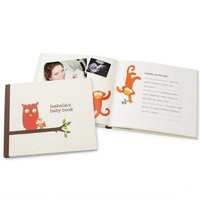 Personalized Petit Collage Baby Book