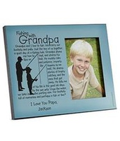 Personalized Memories Photo Frame - Fishing With G